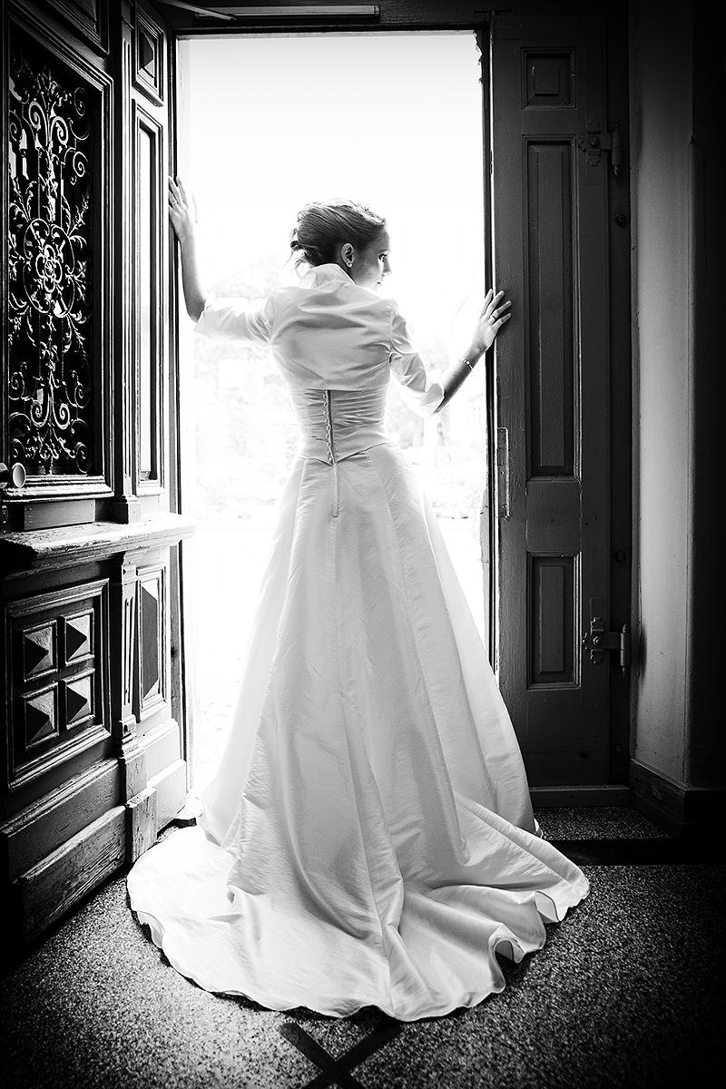 Braut anTür